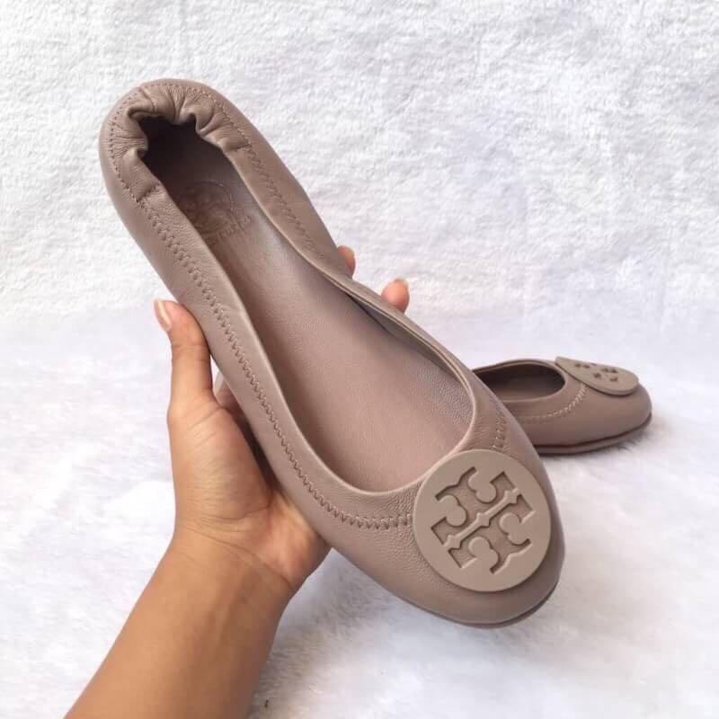 6075dff37 TORY BURCH REVA BALLET FLATS, Women's Fashion, Women's Shoes on ...