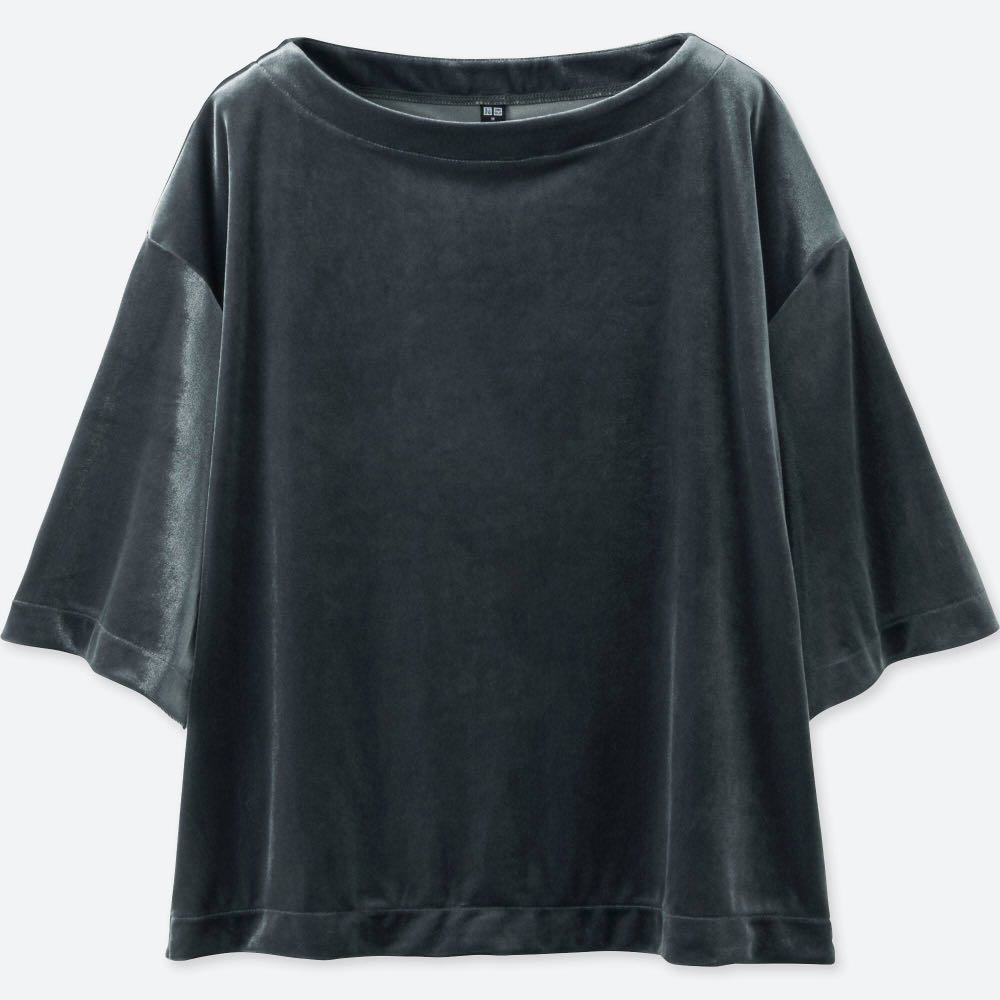 Velvet Uniqlo Shirt :-)