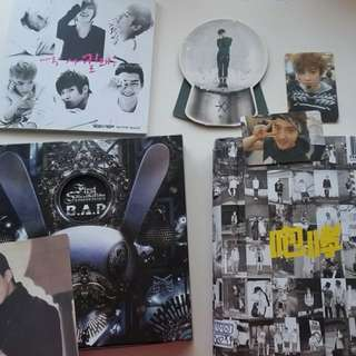 SELLING EXO, B.A.P., TEEN TOP ALBUMS/PHOTOCARDS