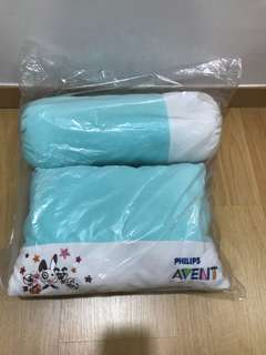 Philips avent pillow and bolster set