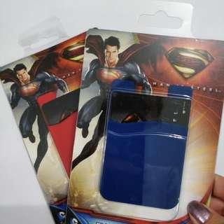 DCComics Superman Plush Pocket (Left Red)
