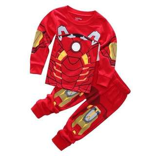 (Preorder) Iron man sleepwear