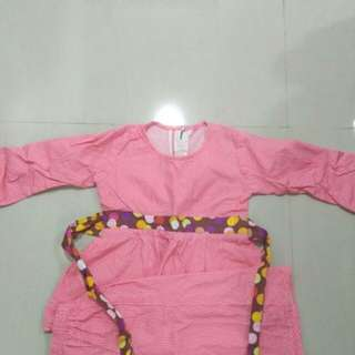 Baju Kurung cotton 2yrs