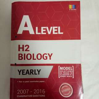 A-level Biology Yearly TYS
