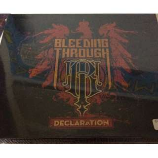 Sealed cd clearance bleeding through declaration cd