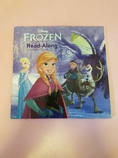 Frozen storybook with accompanying CD