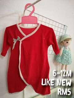 Baby sleepware red