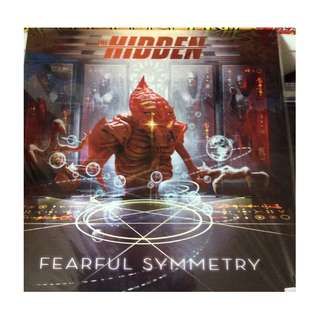 New vinyl clearance the hidden fearful symmetry RED record metal swe