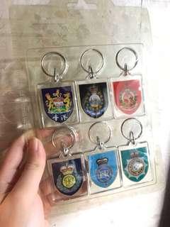 97前紀律部隊鎖匙扣