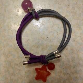 紫拼灰星星頭髮橡根