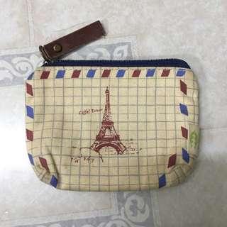 巴黎鐵塔 零錢包
