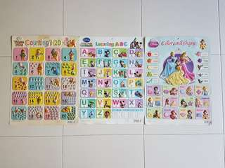 Stickup Educational posters (set of 3)