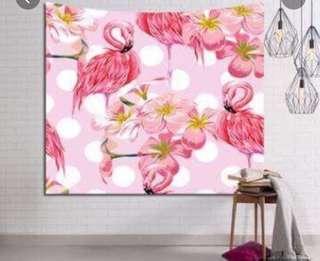 Tapestry Flamingo