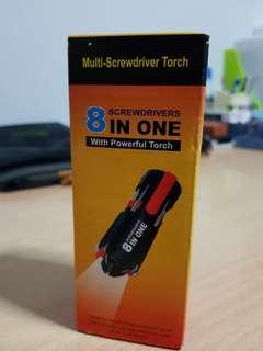 Multi-screwdriver Torch