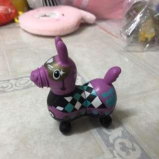 全家 跳跳馬 Rody 磁鐵公仔 紫色