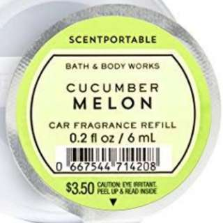 Bath and Body Works Scentportable Refill Cucumber Melon