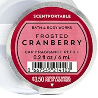 Bath and Body Works Scentportable Refill Frosted Cranberry