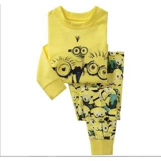 (Preorder) minion sleepwear