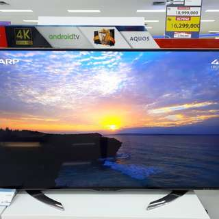 Led TV Sharp 58 Inch 4K (Kredit Free 1x Angsuran)