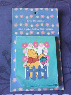 Notepad winnie the pooh