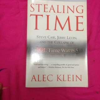 Stealing time by alec klein