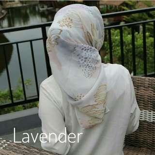 Kerudung Segiempat Pollycotton Hijab Viney Premium