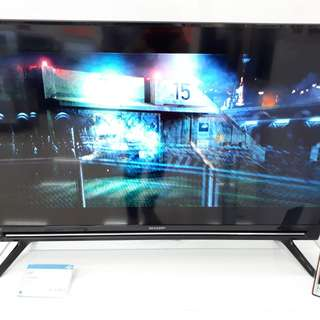 Led Tv Sharp 40 Inch Digital Tv ANTI PETIR