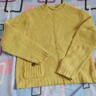 Yellow long sleeves
