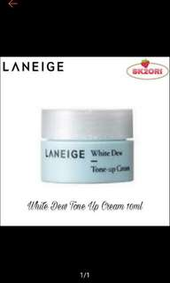 Laneige white dew tone up cream 10 ml