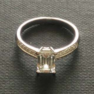 1.0 Flawless Carat Diamond Ring