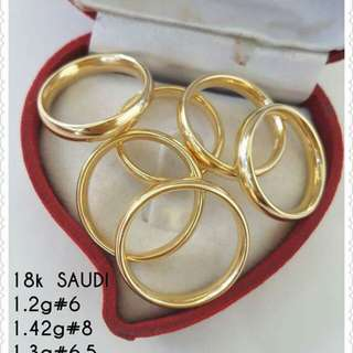 18k Saudi Gold Wedding Rings. Pure Gold. #NoFake!