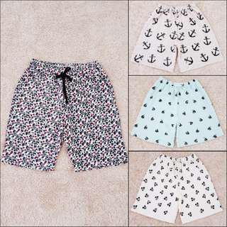 Printed Shorts For Him With Back Pocket
