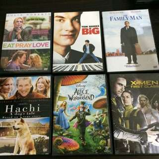 Dvds original movies and documentaries