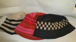 靚針織魚夫帽lady fisherman hats