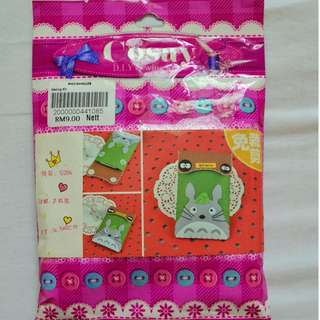 Totoro DIY  case  felt cloth / sewing kit + free delivery