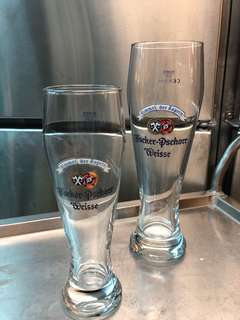 德國 Hacker-Pschorr Weisse beer glass 啤酒杯