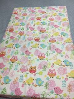 Babylove pink owl bed