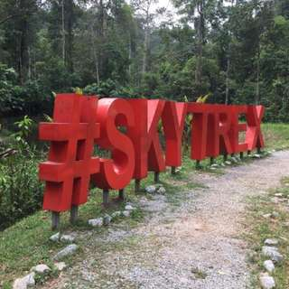 Skytrex Extreme Challenge Shah Alam