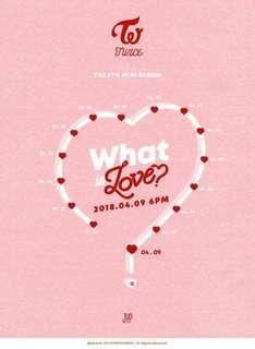 [PREORDER] TWICE 5th Mini Album - What is LOVE?