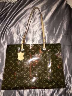 Louis Vuitton Plastic Rain Bag
