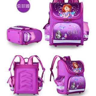 JC SOFIA SCHOOL BAG