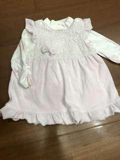 Hallmark 6-12M兩件式寶寶洋裝