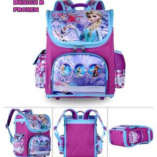 JC FROZEN SCHOOL BAG