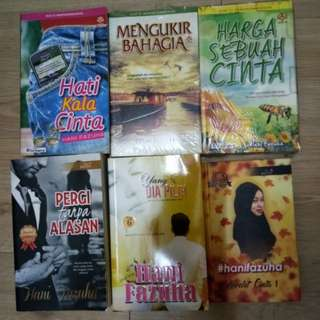 Novel #hani fazuha