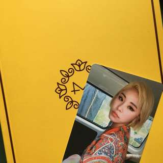 [WTT] Mamamoo Yellow Flower Wheein Photocard