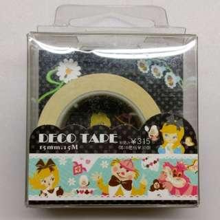 [整捲賣]Disney迪士尼 紙膠帶 愛麗絲夢遊仙境