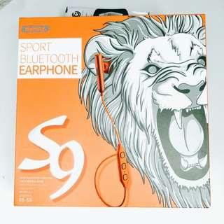 Remax sport bluetooth earphone S9