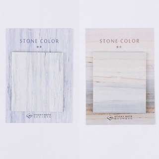 marble stone colour sticky note post its