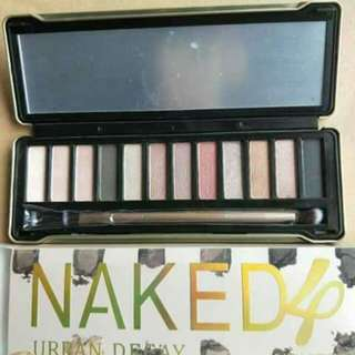 Naked 4 and 5 pallete
