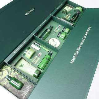 INNISFREE Green tea seed serum (Giant Box, limited edition innisfree 1st anniv in indonesia)